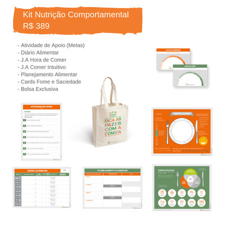 Kit Nutrição Comportamental