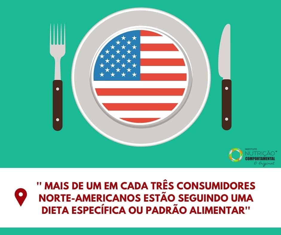 Americanos seguindo dieta